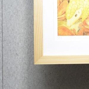 uPrint精緻木框+進口卡紙開窗